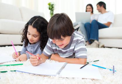Giữ an toàn cho trẻ khi ở nhà